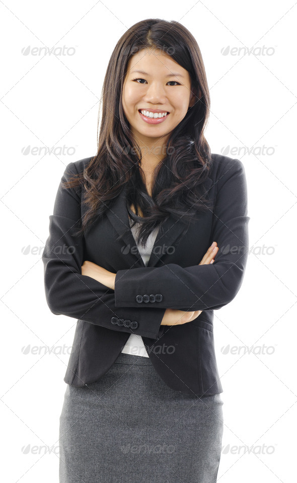 Asian business woman - Stock Photo - Images