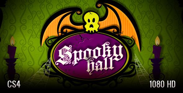 VideoHive Spooky Hall Slideshow 2895042