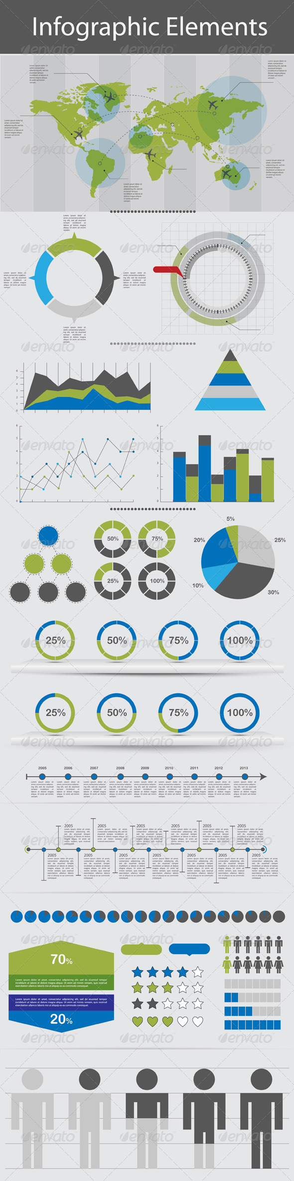 GraphicRiver Infographic Elements 2897032