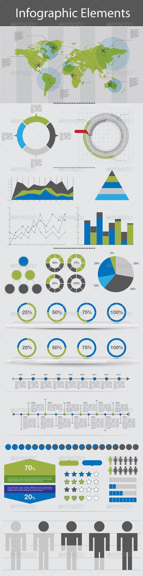 Infographic Elements - Miscellaneous Vectors