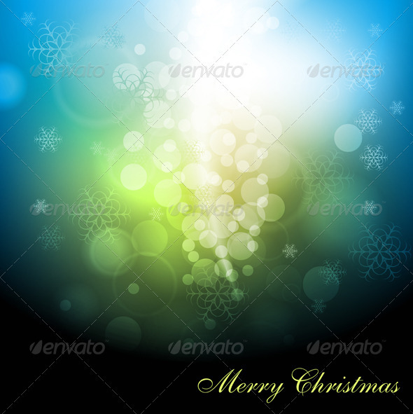 GraphicRiver Abstract X-mas background 2897305