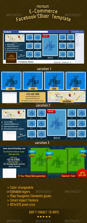 GraphicRiver E-commerce Facebook Timeline Cover 9 2897447