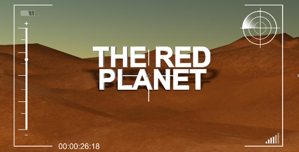 After Effects Project - VideoHive The Red Planet 2898054