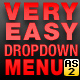 Very Easy Drop Down Menu v1 - ActiveDen Item for Sale