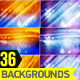 36 Light Waves Abstract Background - GraphicRiver Item for Sale