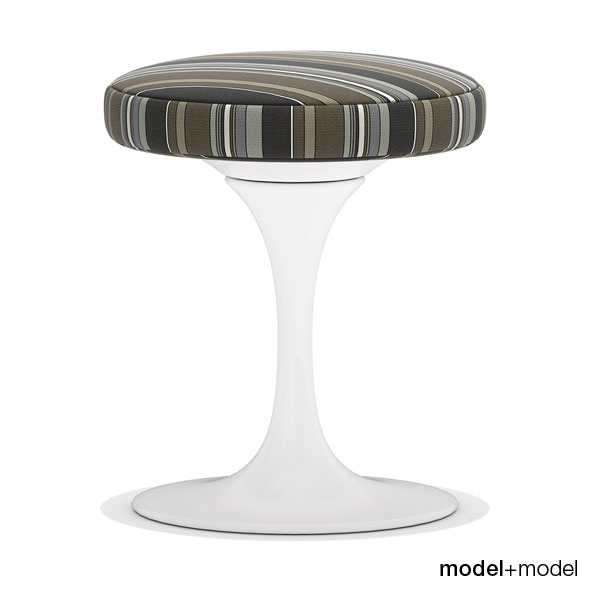 Knoll Tulip stool - 3DOcean Item for Sale