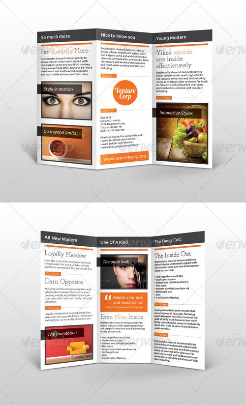 Multi-Purpose Trifold Brochure #1