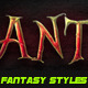 35 Fantasy Photoshop Styles Bundle