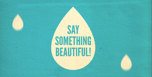 After Effects Project - VideoHive Say Something Beautiful 305215