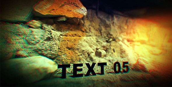 VideoHive Cinematic Grunge Tracking 2901470