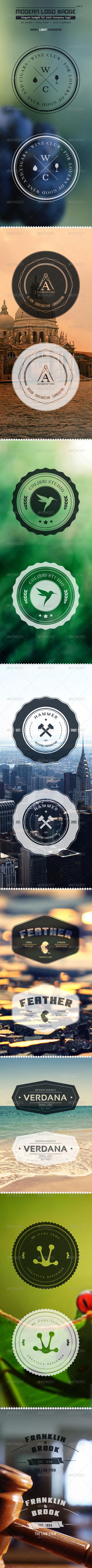 GraphicRiver Modern Logo Badge vol2 2901685