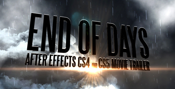 End Of Days CS4&CS5 Trailer