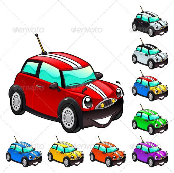 GraphicRiver Funny car 2902436