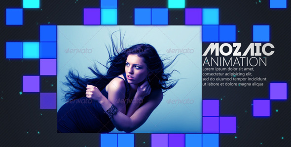 After Effects Project - VideoHive Mozaic Animation 2903633