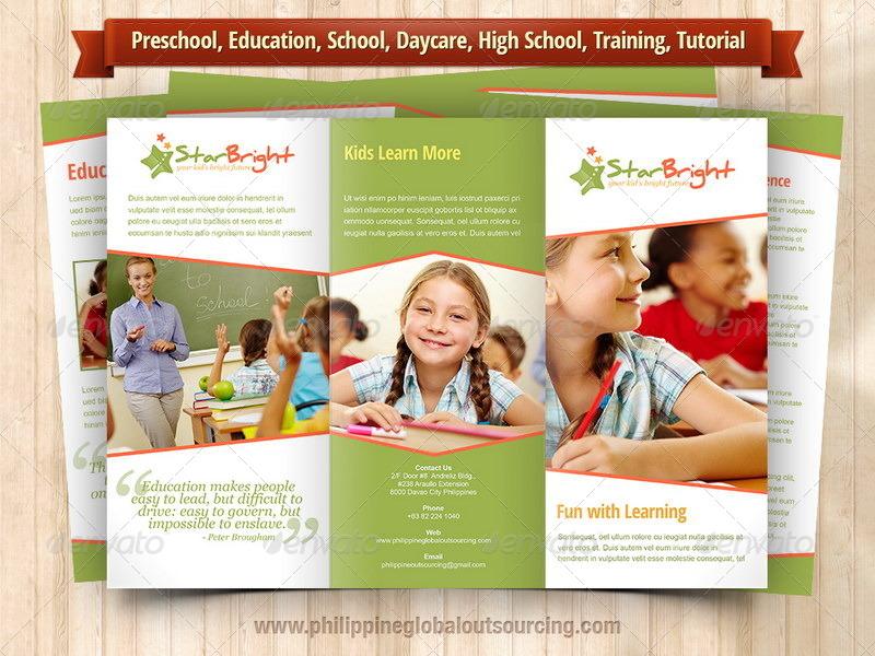Doc600372 Preschool Brochure Template 18 Preschool Brochures – Preschool Brochure Template