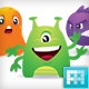Cute Cartoon Monsters - GraphicRiver Item for Sale
