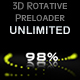 3D Preloader Rotative UNLIMITED / AS 3.0 - ActiveDen Item for Sale