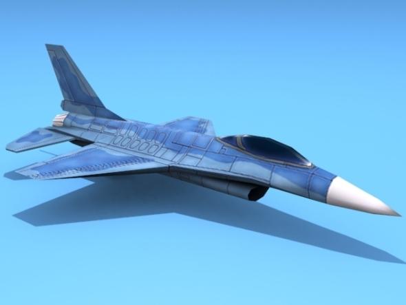 3DOcean F-2 Raven 2905318