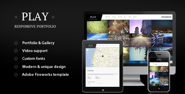 Play - Responsive Portfolio for WordPress