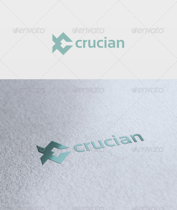 Crucian Logo - Vector Abstract