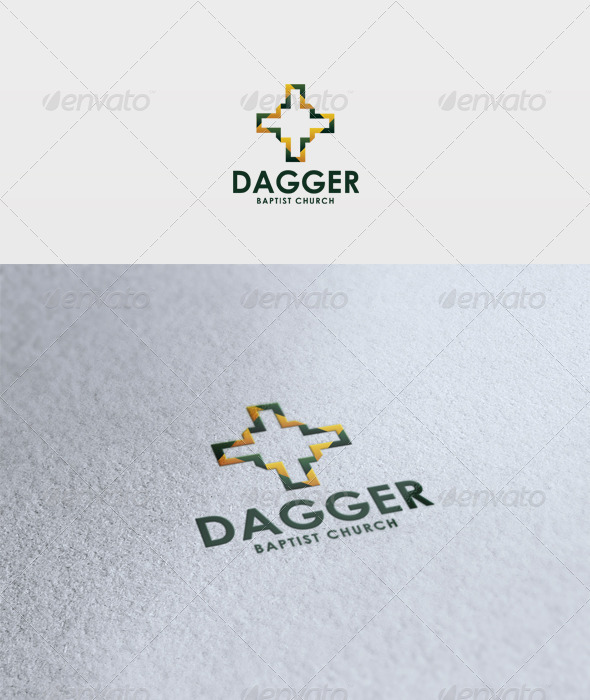 Dagger Logo - Vector Abstract