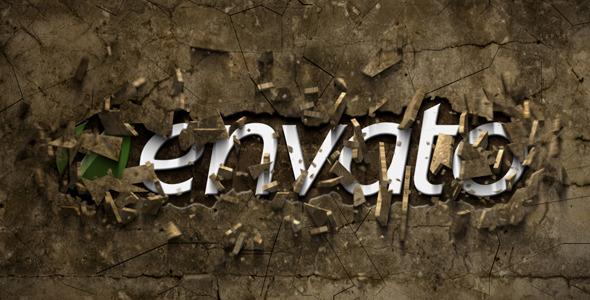 VideoHive Smashing Logo Stone 2906203