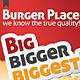 Burger Place - Fast Food Flyer - GraphicRiver Item for Sale