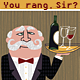 Wine Waiter & Butler Serving in Restaurant - GraphicRiver Item for Sale