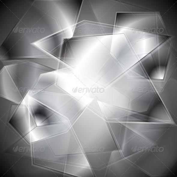 Glass splinters background - Backgrounds Decorative