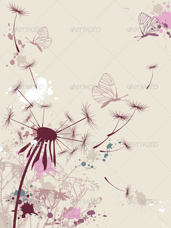 Floral Background - Flowers & Plants Nature
