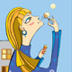 Girl Town Soap Bubbles - GraphicRiver Item for Sale