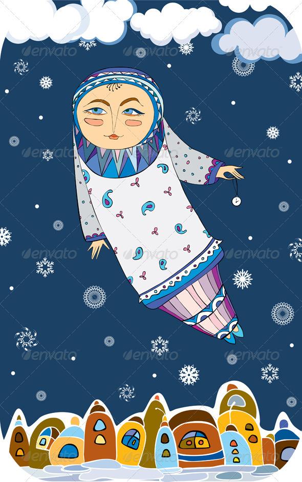 Girl Town Winter Fairy