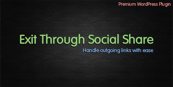 CodeCanyon Exit Through Social Share 1972883