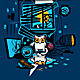 Bandit Cat. Vandal, Murderer and Perjurer - GraphicRiver Item for Sale