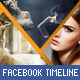 Triangles Facebook Timeline - GraphicRiver Item for Sale
