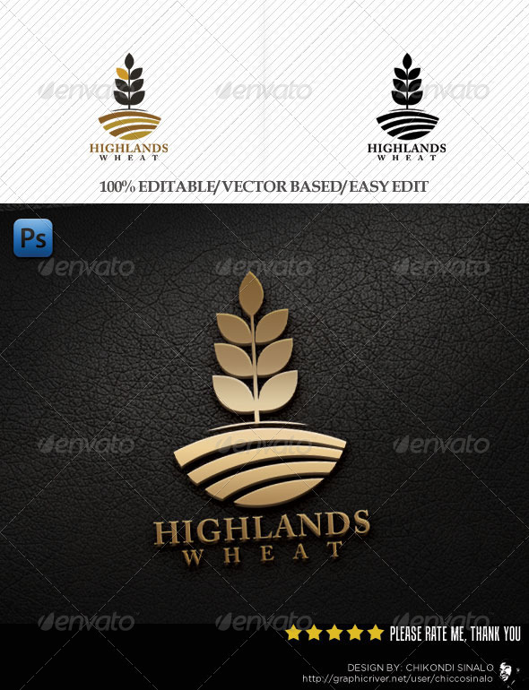 Highlands Logo Template - Abstract Logo Templates