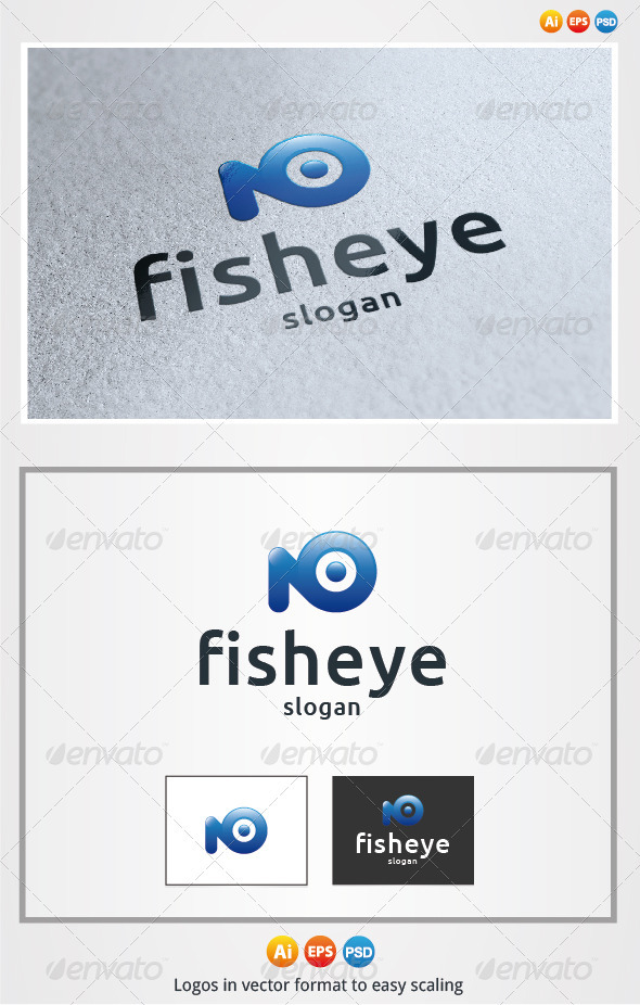Fish Eye - Animals Logo Templates