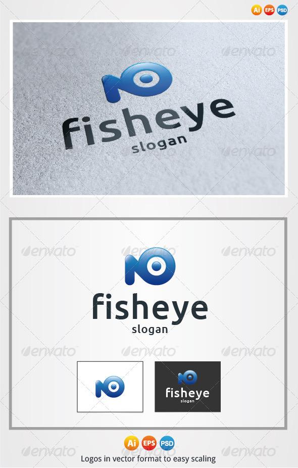 Fish Eye - Animals Logo Templates