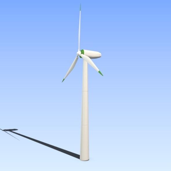 3DOcean Wind eco turbine 2907880