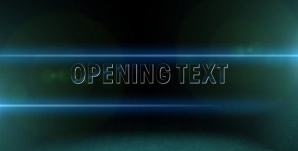 [VideoHive 104330] Cinema Style titles | After Effects Project