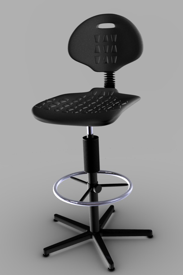 3DOcean Bar Stool 104121