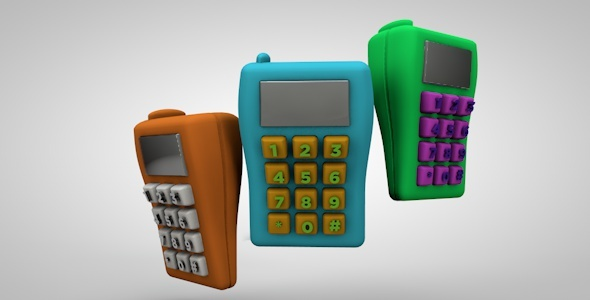 3DOcean Mobile Toy Phone 2894239