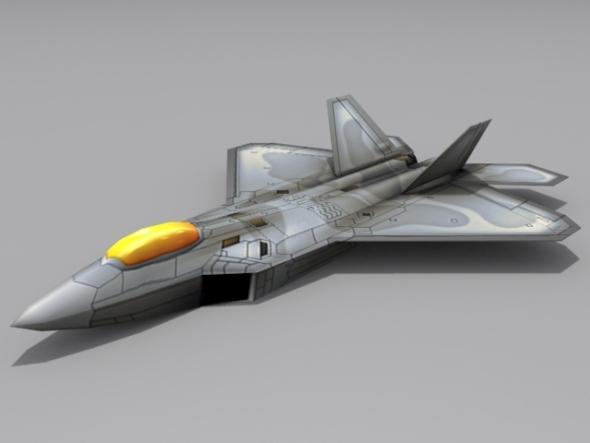 3DOcean F A-22 N Raptor II 2910859