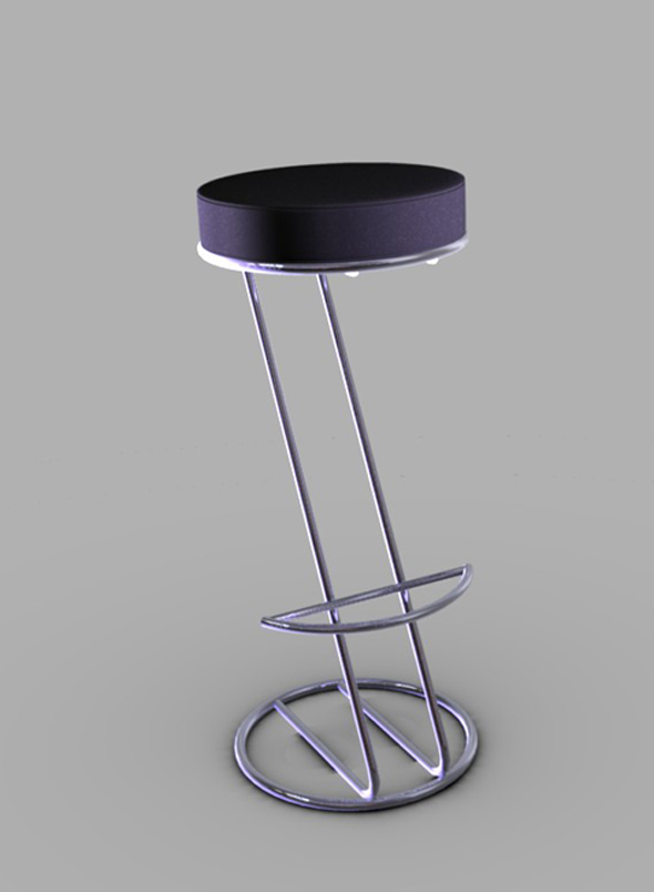 3DOcean Bar stool 2 104417
