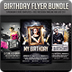 Birthday flyer Bundle - GraphicRiver Item for Sale