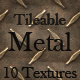10 Tileable Metal Texture Patterns - GraphicRiver Item for Sale