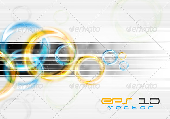 Bright abstract background - Backgrounds Decorative