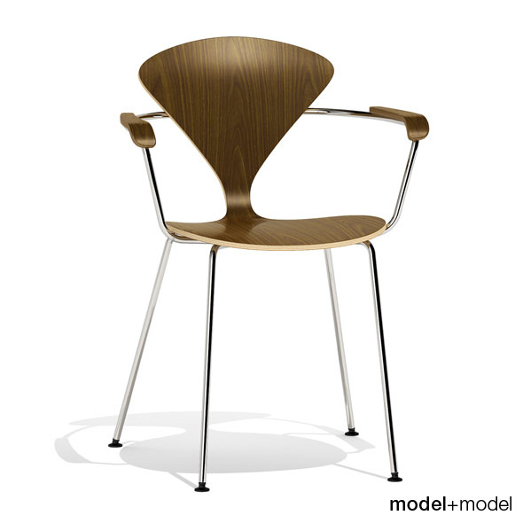 Cherner Metal base chair