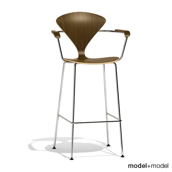 3DOcean Cherner Metal base stool 305554