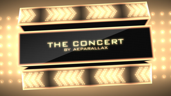 VideoHive The Concert Photo Video Presentation 2917121
